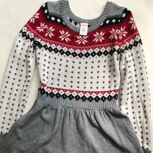 Gymboree Holiday Sweater Dress 8Y